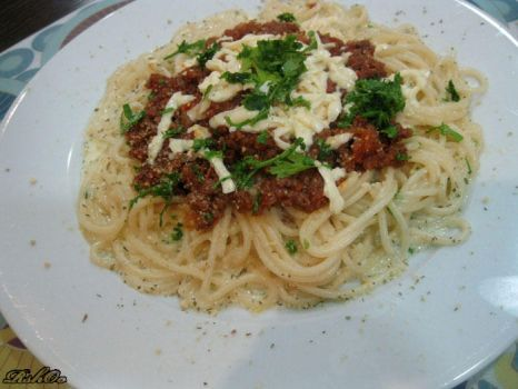 Pasta bolognes,, by RshOo