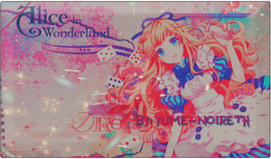 Alice in wonderland by lenaleesan22