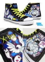 xbox chucks by Bobsmade