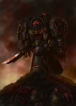 Araghast of the Sons of Horus by Nemris