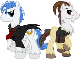 OC Request: Yu-Kain and Accord by CrimsonLynx97