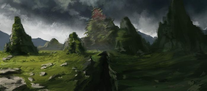 environment sketch by MgcUsr
