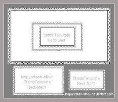 Stamp Templates Rectangle by Bnspyrd