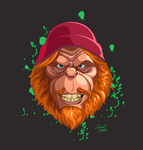 Fanart of the Sasquatch from Kids vs Monsters by MrNorth