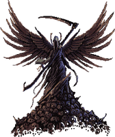 Pixel Angel of death by LordHannu