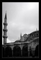 Mosque courtyard by Jaydehawk