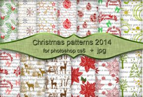 Christmas patterns 2014 by FrenchTeilhard