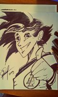 Son Goku . Disney Style by MagicianEpicArtist