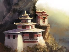 pagoda by 13tangerines