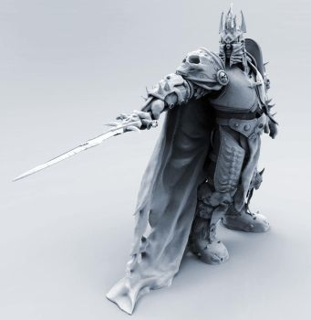 The Lich King - 3D Print Design by Kanaru92