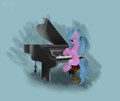 piano. [gift] by thedutchbrony