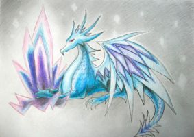 Ice Dragon by SpartanB214