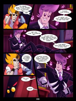 The Mystery Skulls Misadventures: 'Wounds' pg26 by Anastas-C