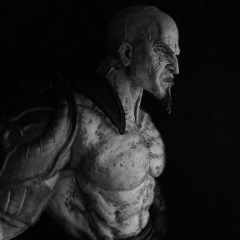 Kratos by andycobain