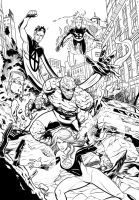 Fantastic Four Inks. by Trucas