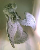 Doctor Who Weeping Angel plushie 1 by phooanimates