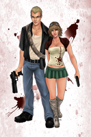 Zombie Hunters by Daluna83