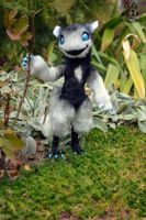Poseable toy commission for salisburies by MalinaToys