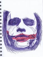 Ballpoint Joker by Mechgeek