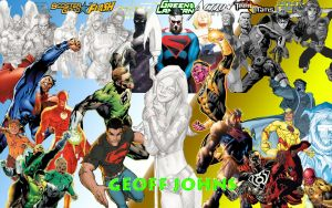 Geoff Johns Tribute by Xionice