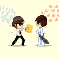 Elwood Love Leia by caboosemcgrief