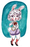 White Rabbit by rynarts