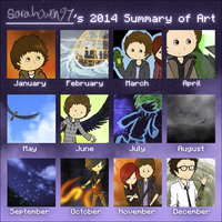 Art Summary 2014 by sarahowen97