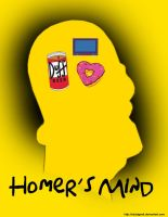 Homer's Mind by EdArtGeek