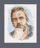 Hugh Laurie by atreus4971