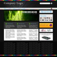 Sample Website by Designologer