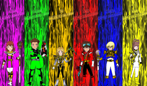 Digimon Gokaiger Power-Up Modes for asrockrpg by rangeranime