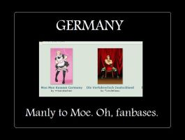 Germany Man-Moe by UncleKasu