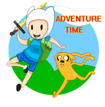 Finn and Jake [Adventure Time] by Tsiki10