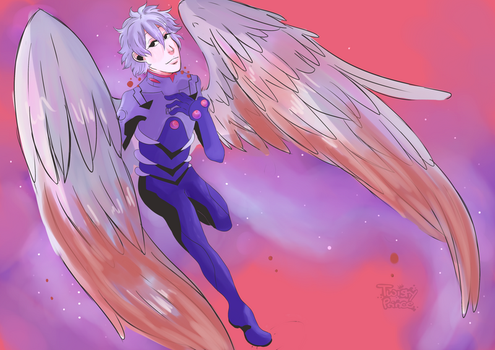 Kaworu by twistyprince