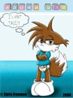Chris Fox: I's NOT Tails by BabyChrisFox