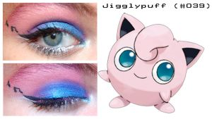 Pokemakeup 039 Jigglypuff by nazzara