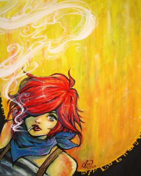 Smoking h by ReeveLy