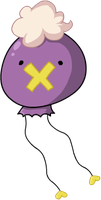 A Drifloon by HappyCrumble
