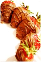 Chocolate Covered Strawberries by ospr