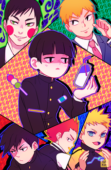 MOB PSYCHO 100 by taxikun
