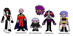 OC villains 4 by scifiguy9000