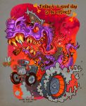 Ed Roth Tribute 1 by Garvals