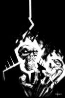 Ghost Rider by sangmeister