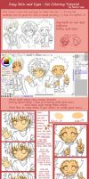 Easy Skin and Eyes: Sai Coloring Tutorial by Nemu-Saa