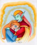 Mother and Daughter by CinsAngel