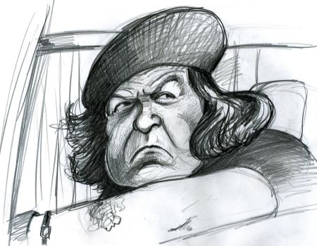 Anne Ramsey in The Goonies by Caricature80