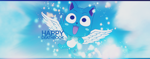 Fairy Tail Happy Signature by DeathB00K