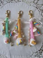 Ice Cream Spoon Keychain by AngelicLight100