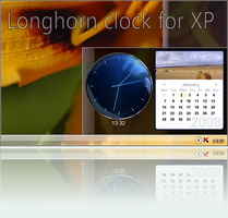 Longhorn 4074 clock for XP by fediaFedia