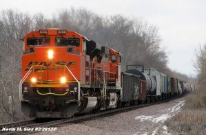 BNSF 9256 and BNSF 4044 lead H-GALMAD by EternalFlame1891